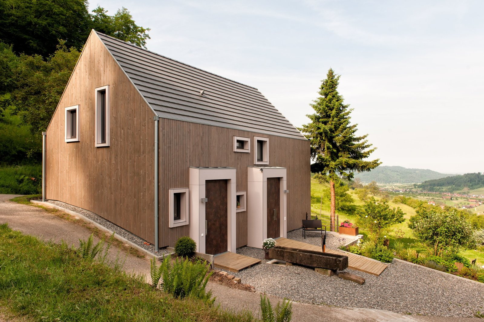 These 4 European Homes Show How Striking a Steep Roof Can Be