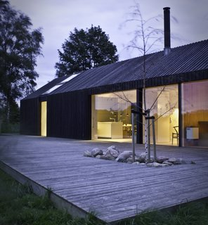 These 4 European Homes Show How Striking a Steep Roof Can Be - Photo 2 of 8 -