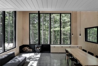 A Lofty Nature Retreat in Quebec Inspired by Nordic Architecture - Photo 10 of 16 -