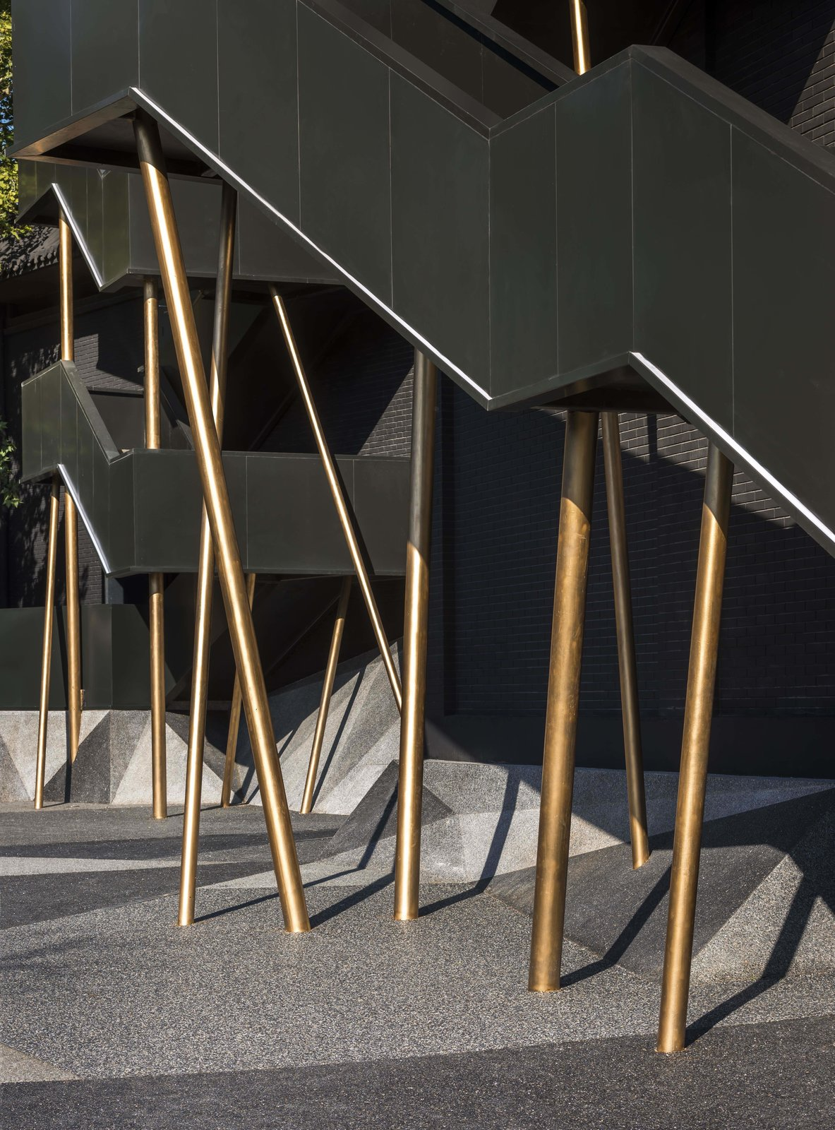 Staircase and Metal Railing  Vue Hotel Hou Hai from A Hotel in Beijing Fuses Chinese History With Cosmopolitan Style