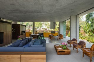 A Concrete Home in Brazil Lets the Owners Practically Live in the Jungle - Photo 7 of 12 -