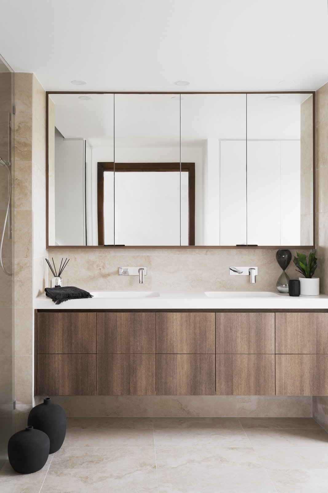 Bath, Undermount, Engineered Quartz, Porcelain Tile, and Porcelain Tile  Best Bath Undermount Porcelain Tile Photos from 6 Insider Tips For Bathroom Design From the Experts