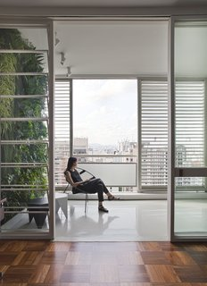 This Renovated Pad in São Paulo's Iconic Lausanne Building Is a Breath of Fresh Air - Photo 2 of 11 -