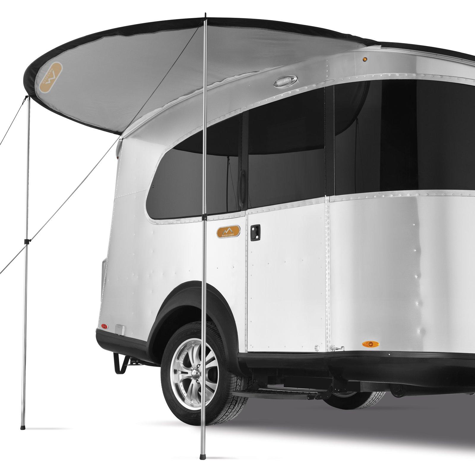 basecamp airstream adventure trailer canopy