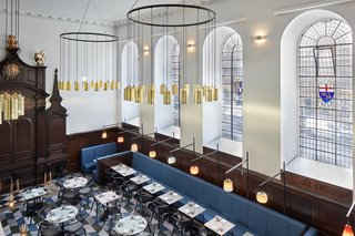 A Historic Church in London Hosts a New Cantonese Restaurant and Art Gallery - Photo 2 of 15 -
