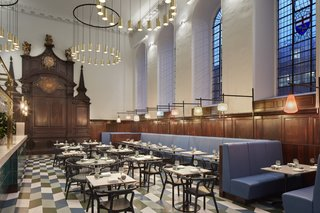 A Historic Church in London Hosts a New Cantonese Restaurant and Art Gallery - Photo 9 of 15 -