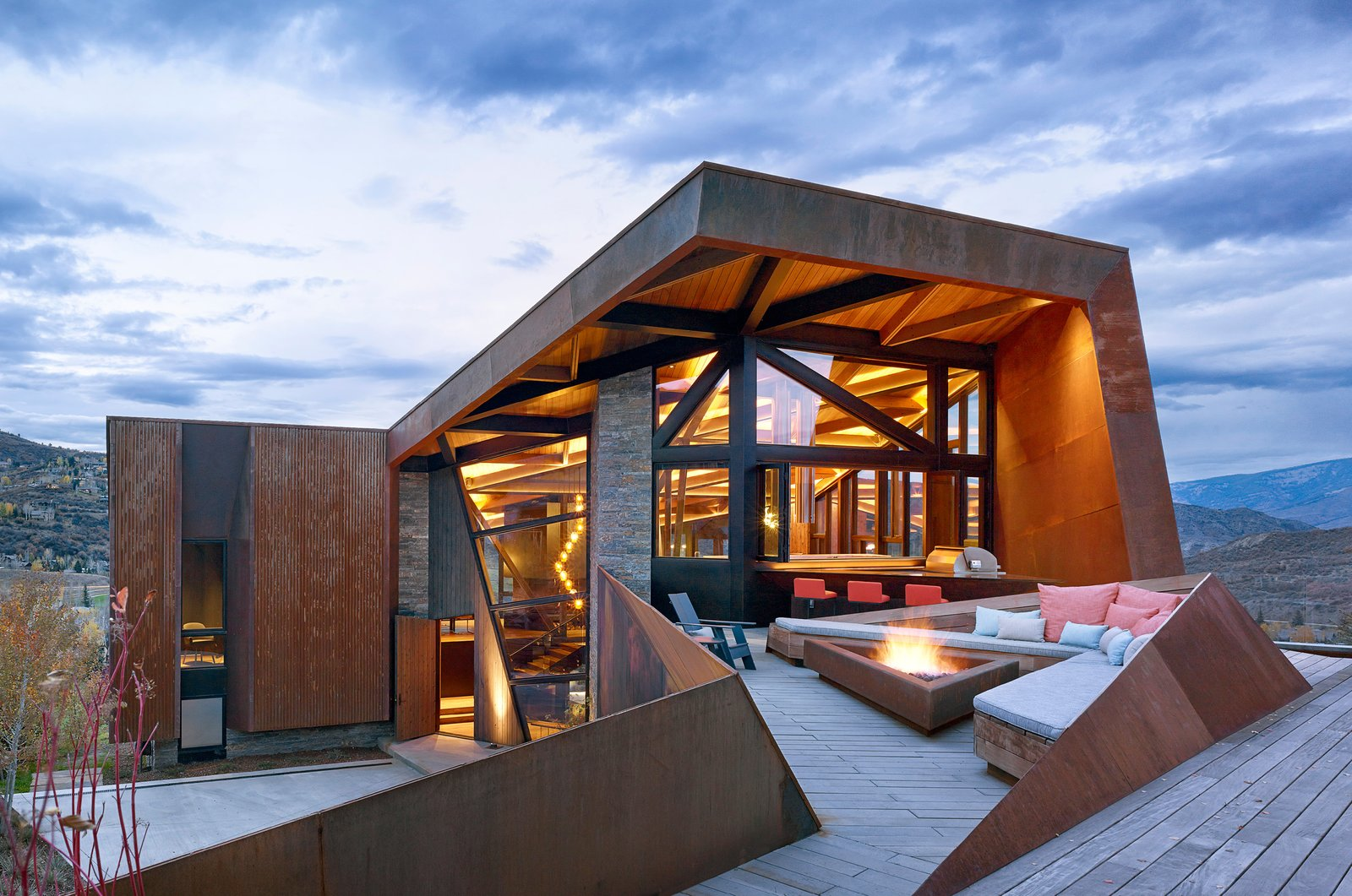 modern mailbox dwell. Modern Mailbox Dwell. Photo 1 Of 16 In An Angular Mountain Retreat Colorado  Captures Breathtaking Dwell N