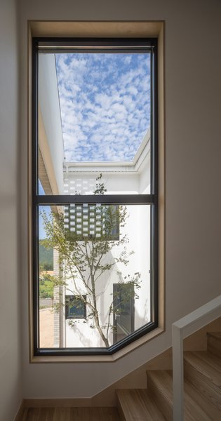 Large windows bring in plenty of natural light.
