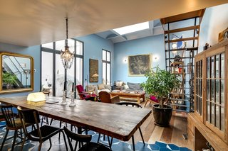 This Parisian vacation home was once a theater and restaurant in the 1940s.