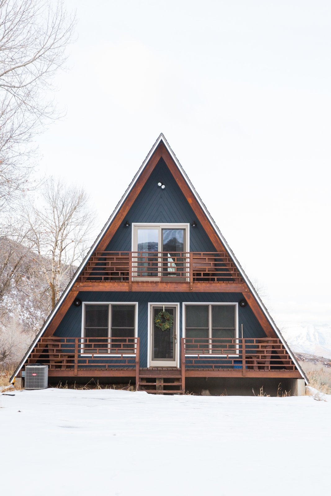 Photo 4 of 14 in Before & After: An A-Frame Cabin Boasts Serious ...