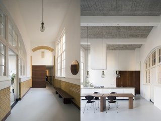 A 20th-Century Dutch Schoolhouse Now Holds a Series of Airy Lofts - Photo 2 of 13 -