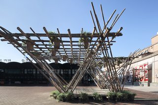 These Designs Take Bamboo Infrastructure to a New Level - Photo 5 of 18 - The Rising Cane pavilion by Penda.