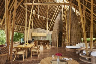 These Designs Take Bamboo Infrastructure to a New Level - Photo 8 of 18 - The Temple House in Green Village, Bali.