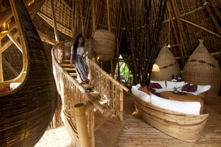 These Designs Take Bamboo Infrastructure to a New Level - Photo 10 of 18 - The River House in Green Village, Bali.