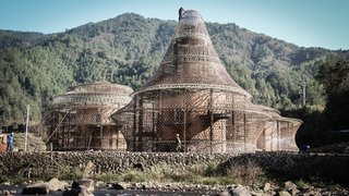 These Designs Take Bamboo Infrastructure to a New Level - Photo 18 of 18 - Three hostels in the village of Baoxi located in China.