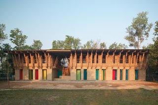 These Designs Take Bamboo Infrastructure to a New Level - Photo 17 of 18 - The METI School in Northern Bangladesh.