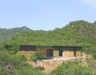 A house by Kengo Kuma near the Great Wall of China.