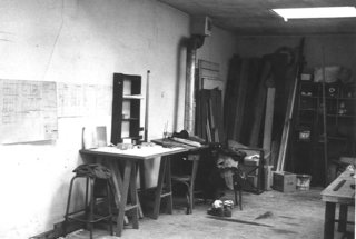 Before and After: A Renovated Artist's Studio Is Now an Airy, Efficient Home - Photo 1 of 16 - The space served as French painter Pierre Lemaire's workshop in the 1970s.