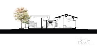 A Concrete Abode Becomes a Surfer's Paradise - Photo 23 of 23 - Another cross sectional drawing.