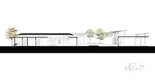 A Concrete Abode Becomes a Surfer's Paradise - Photo 22 of 23 - A peek at the cross sectional drawing.