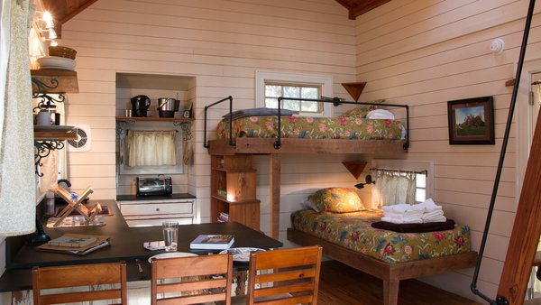 At present, 15 cabins are available for rent.