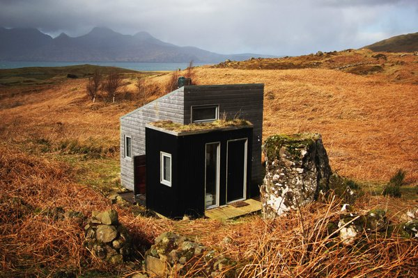 Pig Rock Bothy and Inshriach Bothy are two of the handcrafted structures that inspire artists who use them as residency spaces.