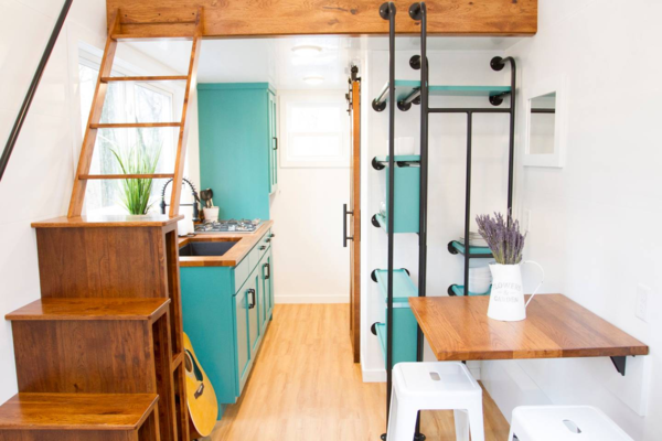 The Nash House is one of the rentable tiny homes from Try It Tiny.