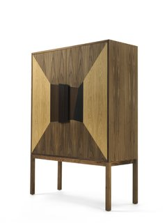 7 Stylish Bathroom Sinks That Can Fit in Even the Tiniest of Spaces - Photo 5 of 8 - The DeKauri freestanding vanity takes inspiration from the traditional Italian credenza and is made with 50,000-year-old Kauri wood.