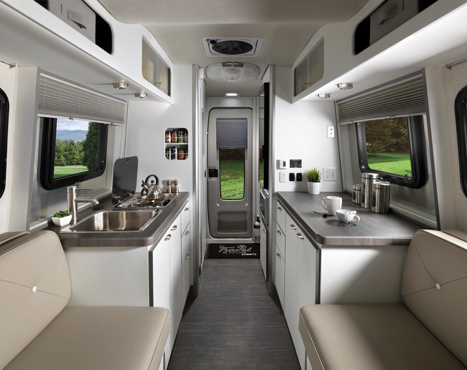 """""""Wally was a design pioneer, and he recognized the versatility of fiberglass,"""" says Airstream President & CEO Bob Wheeler."""