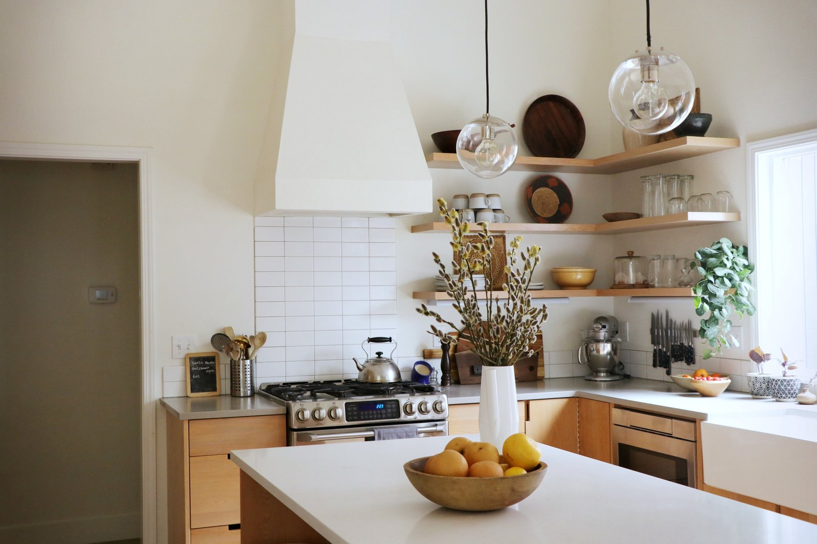 Before U0026 After: A Kitchen And Dining Room Swap Places In This Home  Renovation   Dwell