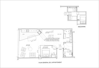 Here is the floor plan for the new apartment.