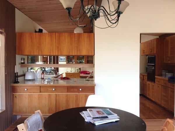 The property was originally built in 1957 by northwest architect Arnold Gordon Gangnes.