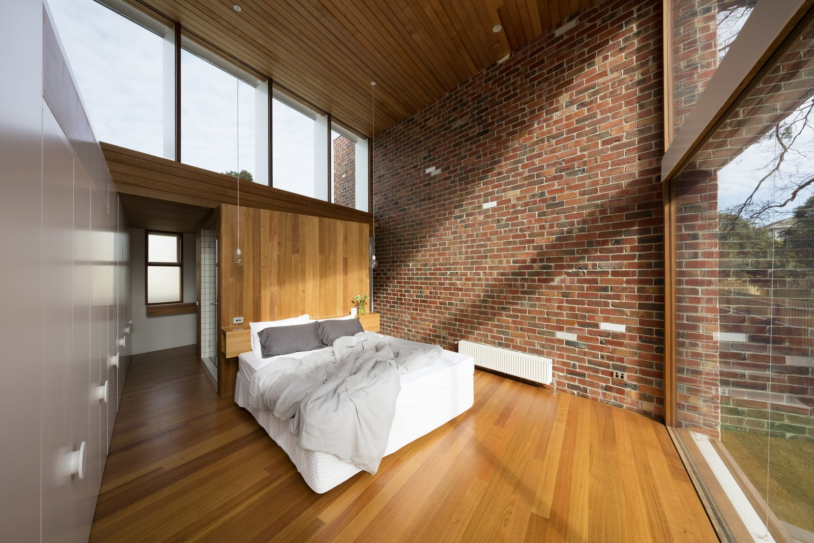 The timber used for the addition comes from sustainable, natural plantation oak.