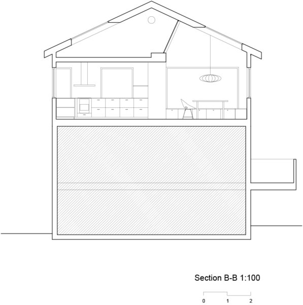Sectional drawing