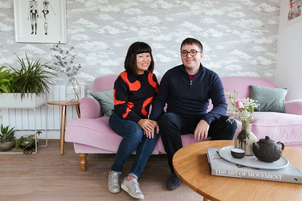 Because this was their first home purchase, Zeng admits she was a little obsessive about making it perfect. She used inspiration boards and mock-ups to help her visual each room.