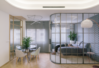 8 Glass-Enclosed Bedrooms That Cleverly Amp Up Transparency