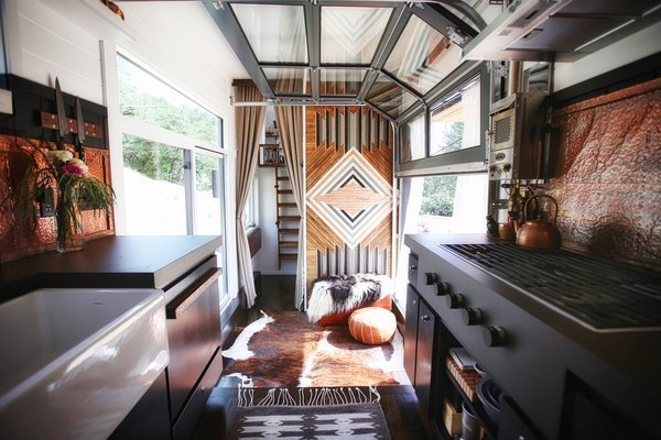 Modern living home design ideas inspiration and advice dwell a california couple customize their tiny home with multi layered interiors sisterspd