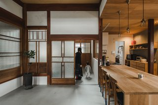 "In traditional Japanese architecture, spaces are divided into ""tsubos,"" a Japanese unit of floor area that's the equivalent to approximately 35.58 square feet."