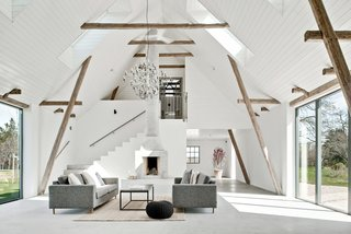 An Airy, Historic Home in Sweden Is Listed For Less Than $700K