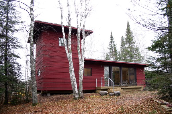 The McGlasson weeHouse in Two Harbors, Minnesota.