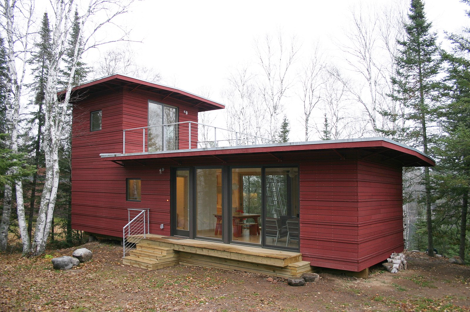 Exterior, Prefab Building Type, and House Building Type  Photo 1 of 5 in 4 Companies to Consider When Building a Prefab Home in Minnesota