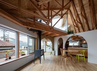 This Whimsical Home in Japan Encourages Play and Exploration