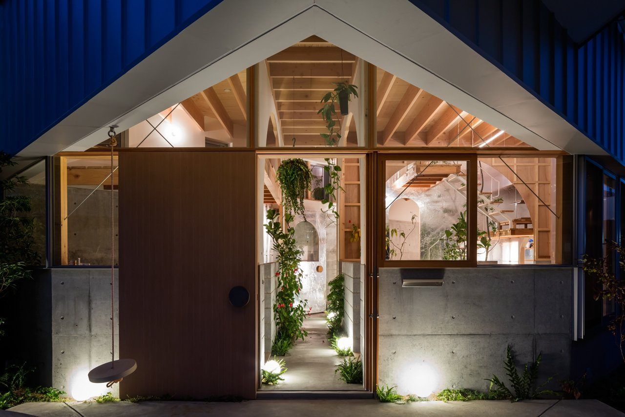 Photo 3 Of 17 In This Whimsical Home In Japan Encourages Play And