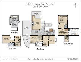 A look at the floor plan after the 1994 renovation by Regan Bice.