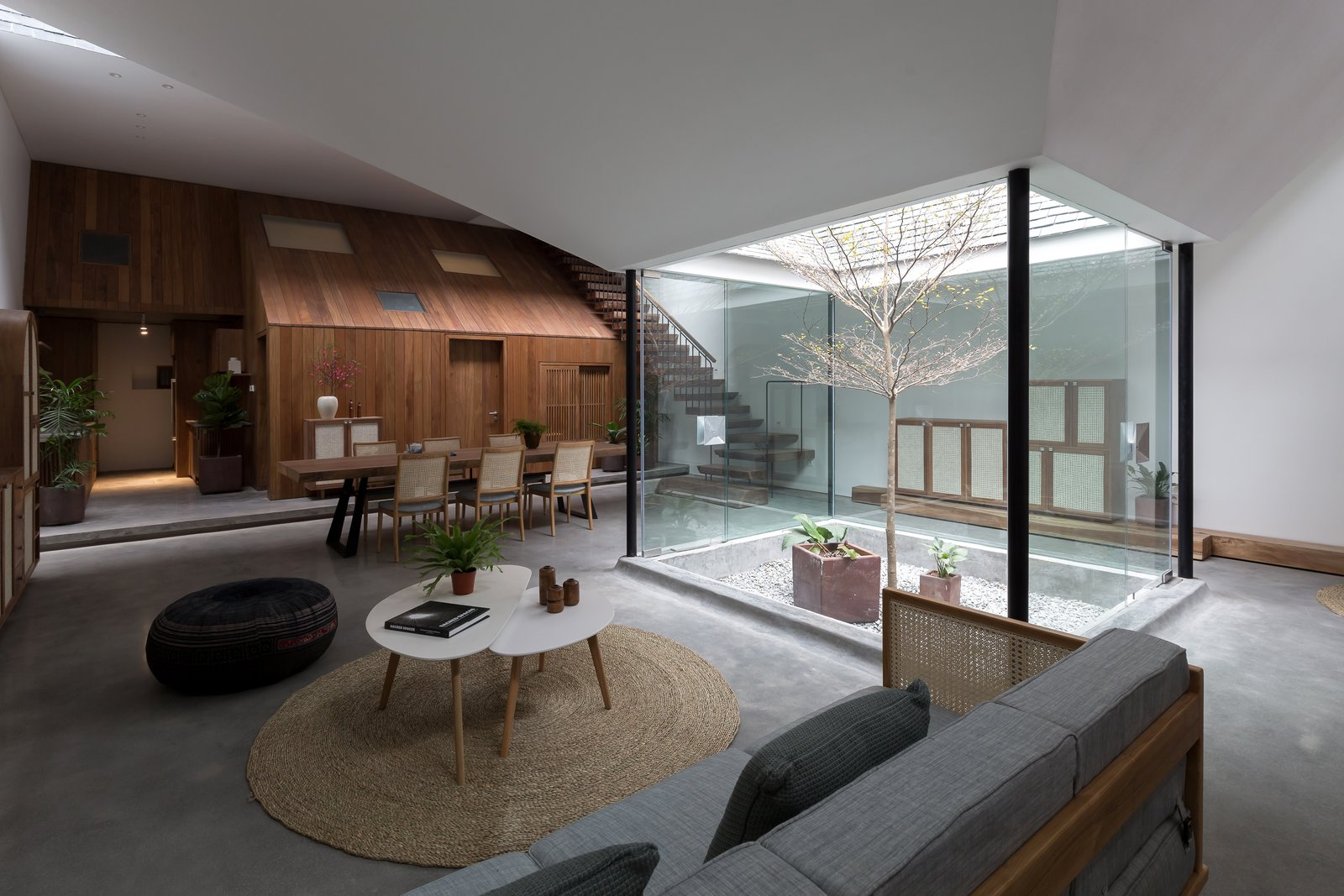 A Vietnamese Abode Draws In Light With a Glass Atrium