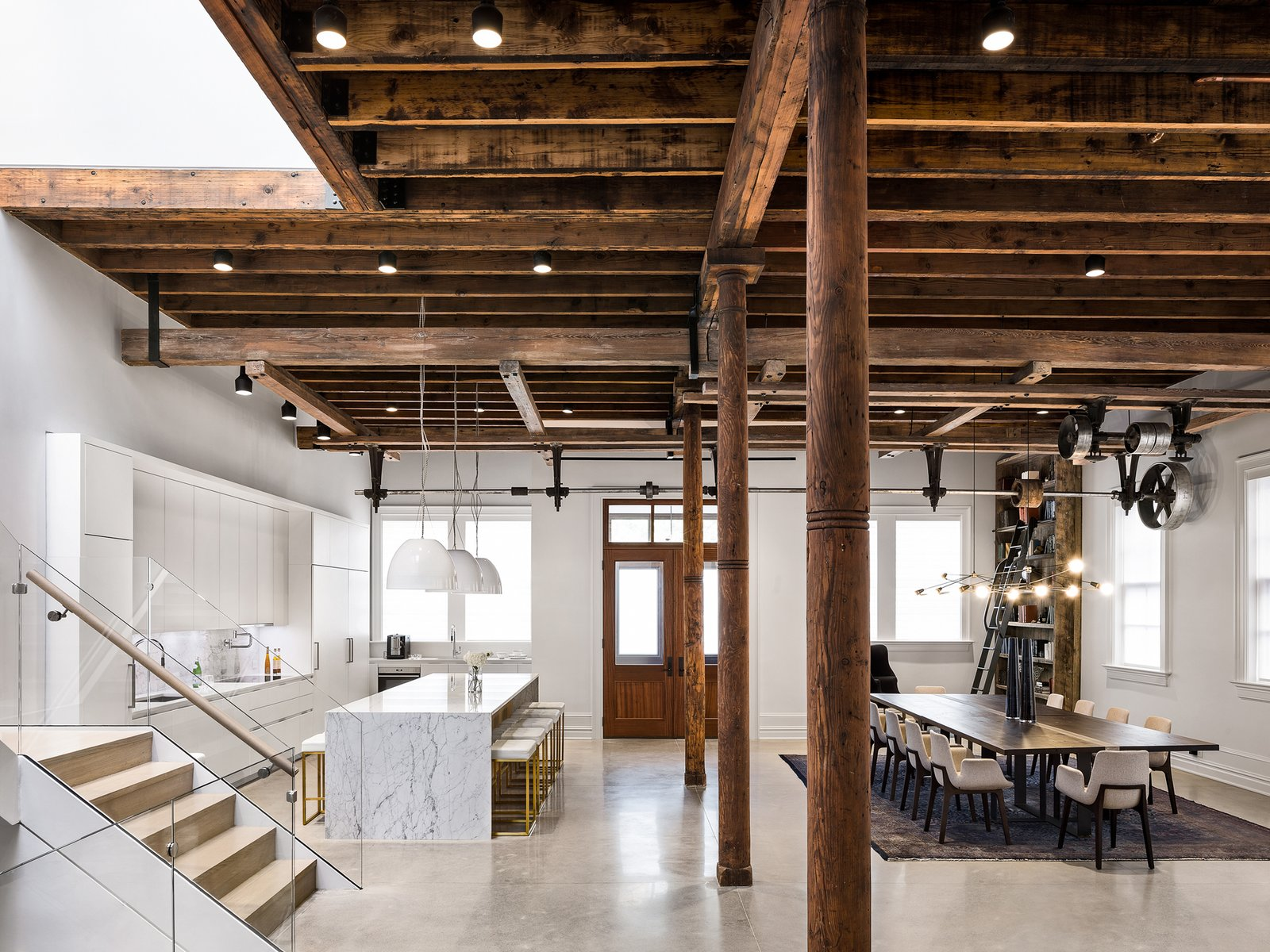 A Historic Propeller Factory Is Converted Into a Gorgeous Home
