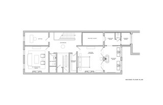 Here is the floor plan for the second floor.