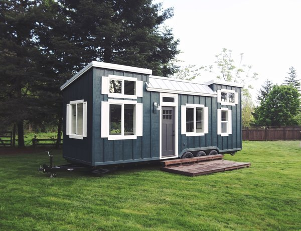 Own this stylish energy efficient tiny home for 69k dwell for Energy efficient tiny homes