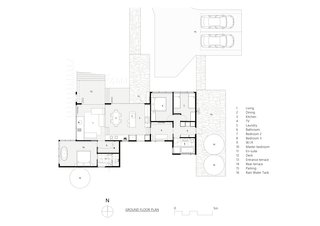 A look at the floor-plan drawing.