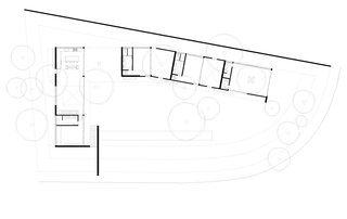 A floor-plan drawing.